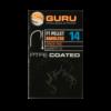 Kép 2/5 - GURU F1 Pellet Barbless szakáll nélküli horog 16-os