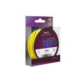 DELPHIN HERO 8 fluo sárga 0,30mm/21,40kg/117m fonott zsinór