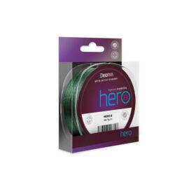 DELPHIN HERO 8/zöld 0,30mm/21,40kg/300m Fonott zsinór