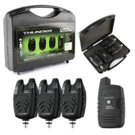 CARP ACADEMY Thunder Elektromos kapásjelző szett 3+1