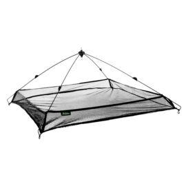 DELPHIN Csaliháló PE hálóval és peremmel 100x100cm
