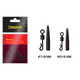 DELPHIN FDR Quick L /Szet #7+18mm Gyorskapocs