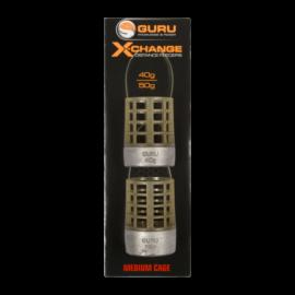 GURU X-Change Distance Feeder kosár Medium 40g+50g Cage