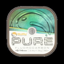GURU PURE Fluorocarbon zsinór 0.16 mm/50 m