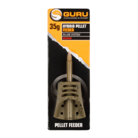 GURU Hybrid Pellet Feeder Inline kosár Small 35g