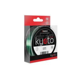 DELPHIN KYOTO zöld színű monofil zsinór 0,23mm/300m