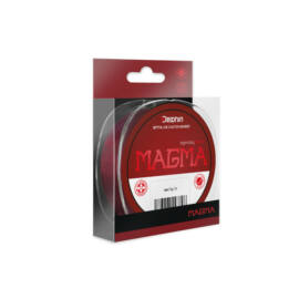 DELPHIN MAGMA Monofil Feeder Zsinór / Bordó 0,234mm 10,3lbs 500m