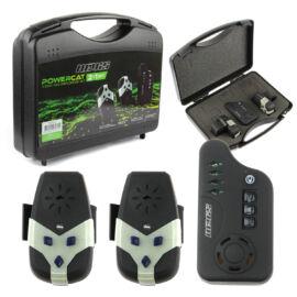 NEVIS Powercat Harcsázó elektromos kapásjelző szett 2+1