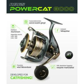 NEVIS Power Cat 8000 Harcsázó Orsó