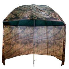 DELPHIN Terepszínű sátras PVC horgászernyő 250cm