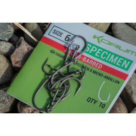 KORUM XPERT SPECIMEN Micro Barbed horog 6-os