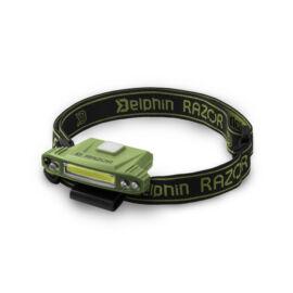DELPHIN RAZOR USB fejlámpa