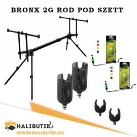 BRONX 2G Rod Pod Szett