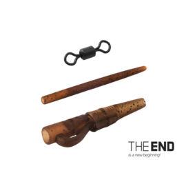 DELPHIN THE END Ólom szerelék szett PIN SWIVEL / 6db