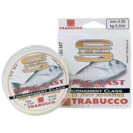 TRABUCCO S-FORCE LONG CAST Távdobó monofil zsinór 300m/0,20