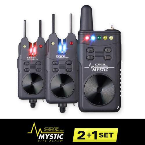 CARP ACADEMY Mystic Elektromos kapásjelző szett 2+1