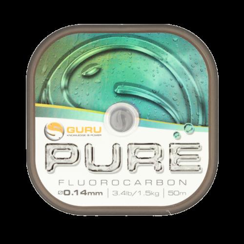 GURU PURE Fluorocarbon zsinór 0.22 mm/50 m