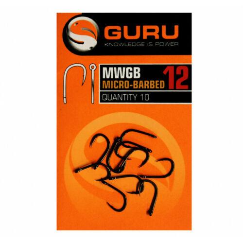 GURU MWG Barbed mikroszakállas horog 12-es