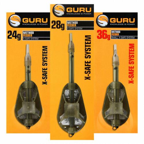 GURU X - Safe Method Feeder kosár large 28g