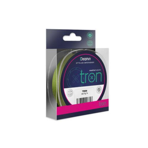 DELPHIN TRON Zöld Fonott Zsinór 0,05mm/5Lbs/130m
