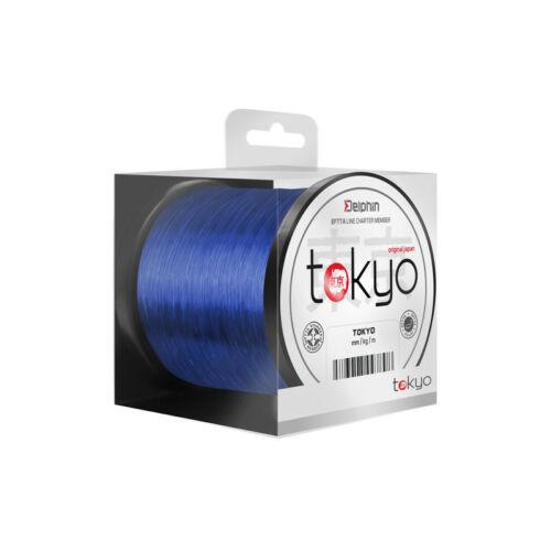 DELPHIN TOKYO kék színű monofil zsinór 0,33mm/600m