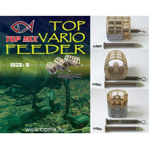 TOP MIX TOP VARIO Feeder kosár S 25g