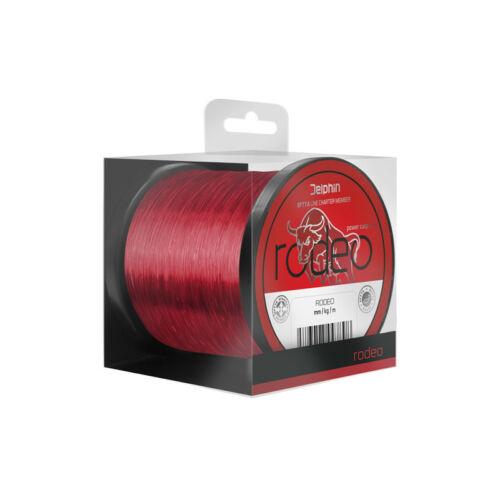 DELPHIN RODEO Piros Monofil Zsinór 0,35mm/1100m